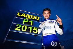 Lando Norris wins the Championship Title with a race to spare | #31 Carlin | MSA Formula Championship | Race 2 - Mandatory byline: Rogan Thomson/JMP - 07966 386802 - 10/10/2015 - MOTORSPORT - Brands Hatch GP Circuit - Fawkham, England - BTCC Meeting Day 1.