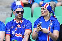 Tifosi Islanda Supporters Iceland<br /> Saint-Etienne 14-06-2016 Stadium Geoffroy-Guichard Football Euro2016 Portugal-Iceland / Portogallo-Islanda Group Stage Group F<br /> Foto Massimo Insabato / Insidefoto
