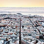 Helsinki Winter Aerial