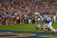 MORNING JOURNAL/DAVID RICHARD.Florida quarterback Tim Tebow during the BCS National Championship game vs. Ohio State.