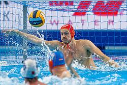 Eelco Wagenaar #1 of Netherlands during Netherlands vs Malta on LEN European Aquatics Waterpolo January 21, 2020 in Duna Arena in Budapest, Hungary