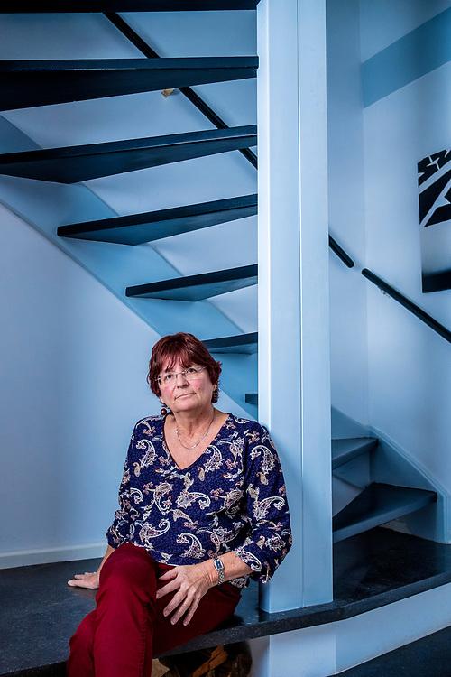 Netherlands. Diemen, 13-11-2019. Photo: Patrick Post. Portret van Liesbeth Verheggen, zij is afgetreden als voorzitter van de Algemene Onderwijsbond, AOb.