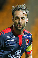 Jerome Lemoigne of Ajaccio during the Ligue 2 match between Stade Lavallois Laval and Gazelec Ajaccio on August 19, 2016 in Laval, France. (Photo by Vincent Michel/Icon Sport)