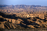 Borrego Badlands desert in Anza-Borrego Desert State Park, California, USA.