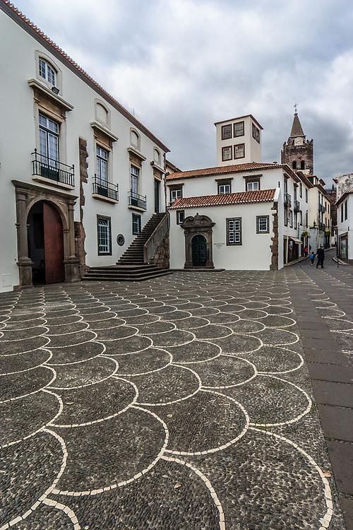 Santo Antonio Chapel in Funchal, Madeira. San Antonio chapel was founded 1715.