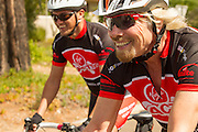 Sir Richard Branson joins a group of riders for a Virgin Unite fund-raiser cycle from Arabella hotel, Kleinmond, Western Cape. Image by Greg Beadle Portraits captured by Greg Beadle in studio and on location Commercial photography commissioned to Beadle Photo by international brands