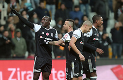 December 14, 2016 - °Stanbul, Türkiye - Vincent Abubakar of Besiktas celebrate his goal in soccer match between Besiktas and Kayserispor, the first soccer match since the bombings, in Istanbul, Wednesday, Dec. 14, 2016. On Saturday's twin attacks outside and near the stadium, 44 people mostly police officers died. (Credit Image: © Tolga Adanali/Depo Photos via ZUMA Wire)
