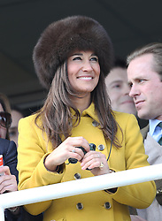 Pippa Middleton  at  the Cheltenham Festival, Thursday, 14th  March 2013.  Photo by: Stephen Lock / i-Images