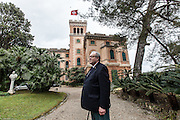Italy, Rapallo, Fra' Robert Matthew Festing OBE (born 30 November 1949) is an English religious figure, friar, and the 79th Prince and Grand Master of the Sovereign Military Order of Malta. in the garden