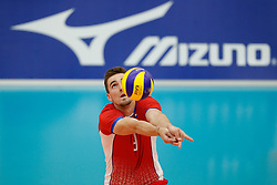 20170524 NED: 2018 FIVB Volleyball World Championship qualification, Koog aan de Zaan<br />Peter Mlynarcik (9) of Slovakia <br />©2017-FotoHoogendoorn.nl / Pim Waslander