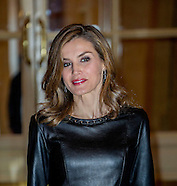 KIng Felipe and Queen Letizia at the Ritz Hotel, Madrid 10-11-2016