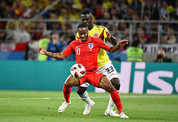 Raheem Sterling in action during the 1/8 Final Game between Colombia and England at the 2018 FIFA World Cup in Moscow, Russia on July 3, 2018. Photo by Lionel Hahn/ABACAPRESS.COM