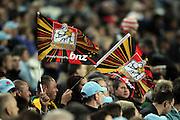 Chiefs fans. Waratahs v Chiefs. 2013 Investec Super Rugby Season. Allianz Stadium, Sydney. Friday 19 April 2013. Photo: Clay Cross / photosport.co.nz