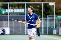 AMSTELVEEN - Sebastien Dockier (Pinoke)    tijdens   hoofdklasse hockeywedstrijd mannen,  AMSTERDAM-PINOKE (1-3) , die vanwege het heersende coronavirus zonder toeschouwers werd gespeeld. COPYRIGHT KOEN SUYK