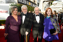 Arlene Silver, Dick Van Dyke, Golden Globe nominee, Henry Winkler, and Stacey Weitzman arrive at the 76th Annual Golden Globe Awards at the Beverly Hilton in Beverly Hills, CA on Sunday, January 6, 2019.