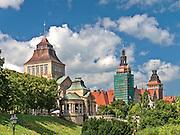 Szczecin, (woj. zachodniopomorskie), 15.07.2013. Wały Chrobrego.