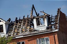 Storm damage, Falkirk, 12 August 2020