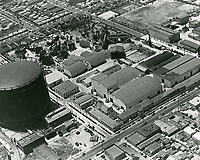 1929 Aerial view of United Artist Studios