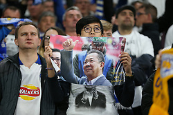 The Leicester City fans pay tribute to the victims of the Leicester City helicopter crash which included Vichai Srivaddhanaprabha