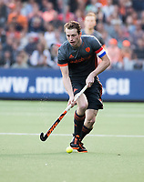 AMSTELVEEN -  Seve can Ass (Ned) tijdens  Belgie-Nederland (heren) bij de Rabo EuroHockey Championships 2017.  COPYRIGHT KOEN SUYK
