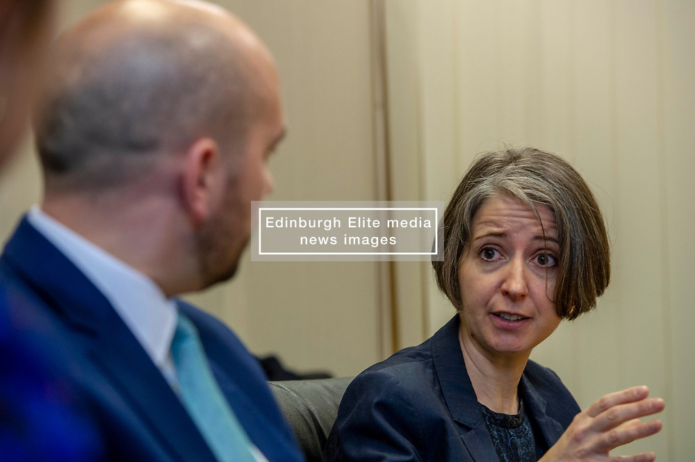 Pictured: Ben Macpherson and Professor Chriustina Boswell<br />
