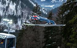 02.02.2019, Heini Klopfer Skiflugschanze, Oberstdorf, GER, FIS Weltcup Skiflug, Oberstdorf, Training, im Bild Daniel Huber (AUT) // Daniel Huber of Austria during his Practice Jump of FIS Ski Jumping World Cup at the Heini Klopfer Skiflugschanze in Oberstdorf, Germany on 2019/02/02. EXPA Pictures © 2019, PhotoCredit: EXPA/ Peter Rinderer