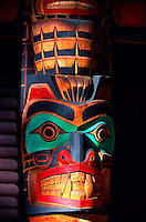 Totem poles, Capilano Suspension Bridge & Park, North Vancouver, British Columbia, Canada