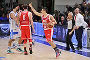 DESCRIZIONE : Campionato 2014/15 Dinamo Banco di Sardegna Sassari - Grissin Bon Reggio Emilia<br /> GIOCATORE : Andrea Cinciarini<br /> CATEGORIA : Palleggio Schema Mani Controcampo<br /> SQUADRA : Grissin Bon Reggio Emilia<br /> EVENTO : LegaBasket Serie A Beko 2014/2015<br /> GARA : Dinamo Banco di Sardegna Sassari - Grissin Bon Reggio Emilia<br /> DATA : 22/12/2014<br /> SPORT : Pallacanestro <br /> AUTORE : Agenzia Ciamillo-Castoria / Luigi Canu<br /> Galleria : LegaBasket Serie A Beko 2014/2015<br /> Fotonotizia : Campionato 2014/15 Dinamo Banco di Sardegna Sassari - Grissin Bon Reggio Emilia<br /> Predefinita :
