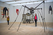 'Single II' (left) and 'Spider' by Louise Bourgeois - The new Tate Modern will open to the public on Friday 17 June. The new Switch House building is designed by architects Herzog & de Meuron, who also designed the original conversion of the Bankside Power Station in 2000.