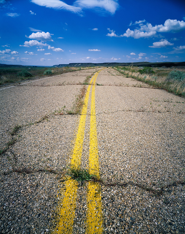 Limited Editions of 8.<br /> Abandoned Highway along the Snake River in Southwest Idaho.