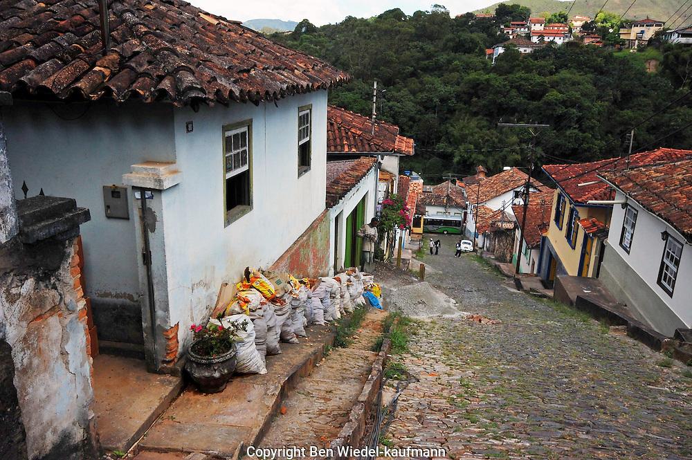 Ouro Preto in State of Minas Gerais Northeastern Brazil