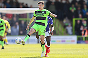 Forest Green Rovers Paul Digby(20) controls the ball during the EFL Sky Bet League 2 match between Forest Green Rovers and Exeter City at the New Lawn, Forest Green, United Kingdom on 4 May 2019.