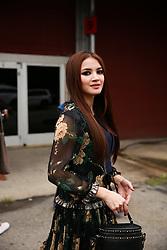September 12, 2018 - New York, New York, United States - Nur Fazura attends the Coach 1941 Runway Show during New York Fashion Week at Pier 94 on September 11, 2018 in New York City. (Credit Image: © Oleg Chebotarev/NurPhoto/ZUMA Press)