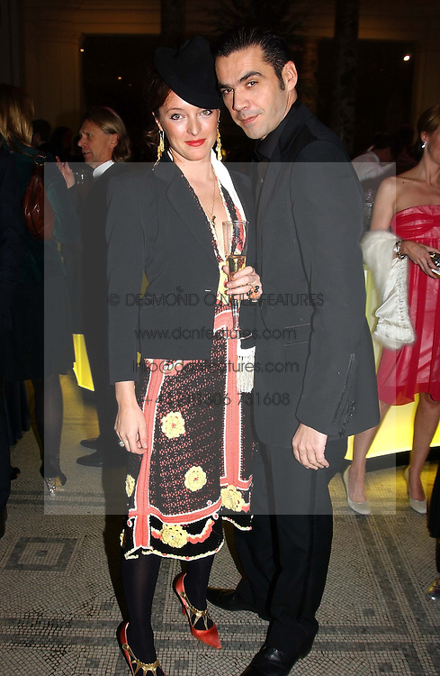 Fasion designers ALICE TEMPERLEY and ROLAND MOURET  at the 2004 British Fashion Awards held at Thhe V&A museum, London on 2nd November 2004.<br /><br />NON EXCLUSIVE - WORLD RIGHTS