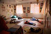 School children taking nap,Hanavave, Island of Fatu Hiva, Marquesas Islands, French Polynesia, (Editorial use only)<br />