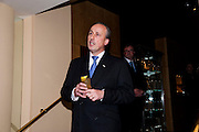 DAVID FOXLEY, Graydon Carter hosts a dinner to celebrate the reopening og the American Bar at the Savoy.  Savoy Hotel, Strand. London. 28 October 2010. -DO NOT ARCHIVE-© Copyright Photograph by Dafydd Jones. 248 Clapham Rd. London SW9 0PZ. Tel 0207 820 0771. www.dafjones.com.