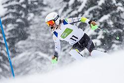 Jensen Patrick of Austria during Slalom race at 2019 World Para Alpine Skiing Championship, on January 23, 2019 in Kranjska Gora, Slovenia. Photo by Matic Ritonja / Sportida
