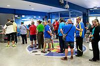 The fans of Getafe CF collect the 2017/2018 season ticket. June 29, 2017. (ALTERPHOTOS/Acero)