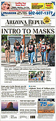August 22, 2021 - USA: Front-page: Today's Newspapers In United States