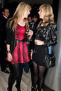 ANNETTE FELDER; DANIELA FELDER, The Tomodachi ( Friends) Charity Dinner hosted by Chef Nobu Matsuhisa in aid of the Unicef  Japanese Tsunami Appeal. Nobu Berkeley St. London. 5 May 2011. <br /> <br />  , -DO NOT ARCHIVE-© Copyright Photograph by Dafydd Jones. 248 Clapham Rd. London SW9 0PZ. Tel 0207 820 0771. www.dafjones.com.