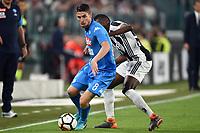 Jorginho Napoli, Blaise Matuidi Juventus <br /> Torino 22-04-2018 Allianz Stadium Football Calcio Serie A 2017/2018 Juventus - Napoli Foto Andrea Staccioli / Insidefoto