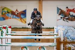 Riesenbeck, Pferdesportzentrum, RIESENBECK - Int. Deutsche Meisterschaften Springen 2020,<br /> <br /> WERNKE Jan (GER), Nashville HR<br /> CSI3* - Grosser Preis von Riesenbeck<br /> Int. Springprüfung (Fehler/Zeit) - 1.55 m<br /> <br /> 06. December 2020<br /> © www.sportfotos-lafrentz.de/Stefan Lafrentz