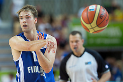 04.09.2013, Arena Bonifka, Koper, SLO, Eurobasket EM 2013, Tuerkei vs Finnland, im Bild Petteri Koponen #11 of Finland // during Eurobasket EM 2013 match between Turkey and Finland at Arena Bonifka in Koper, Slowenia on 2013/09/04. EXPA Pictures © 2013, PhotoCredit: EXPA/ Sportida/ Matic Klansek Velej<br /> <br /> ***** ATTENTION - OUT OF SLO *****