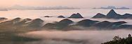 Vietnam Images-panoramic landscape-Moc Chau highland