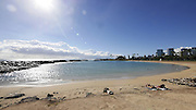 Magic Island Beach, Ala Moana Beach Park, Waikiki, Honolulu, Oahu, Hawaii