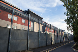 London, UK. 14 September, 2019. Harmondsworth detention centre. Combined with its neighbour Colnbrook, it forms Heathrow Immigration Removal Centre, the largest detention centre in Europe. It is run by the Care and Custody division of outsourcing giant Mitie.
