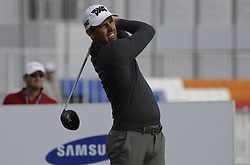 October 19, 2017 - Seogwipo, Jeju Island, South Korea - Charl Schwartzel of Republic of South Africa action on the 10th tee during an PGA TOUR The CJ CUP NINE BRIDGE at Nine Bridge CC in Jeju, South Korea. (Credit Image: © Ryu Seung Il via ZUMA Wire)