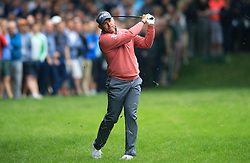 England's Lee Westwood on the 17th hole during day two of the 2018 BMW PGA Championship at Wentworth Golf Club, Surrey.