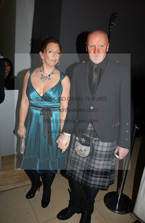 TOM HUNTER and     at a Burns Night dinner in aid of CLIC Sargent and Children's Hospice Association Scotland held at St.Martin's Lane Hotel, St.Martin's Lane, London on 25th January 2007.<br /><br />NON EXCLUSIVE - WORLD RIGHTS