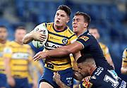 Mitchell Moses.<br /> 2020 NRL Round 02 - Gold Coast Titans v Parramatta Eels, Cbus Super Stadium, 22 March 2020. Digital image by Jason O'Brien © NRL Photos 2020